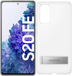 Samsung Galaxy S20 FE (128GB) Smartphone cloud white inkl. Clear Standing Cover