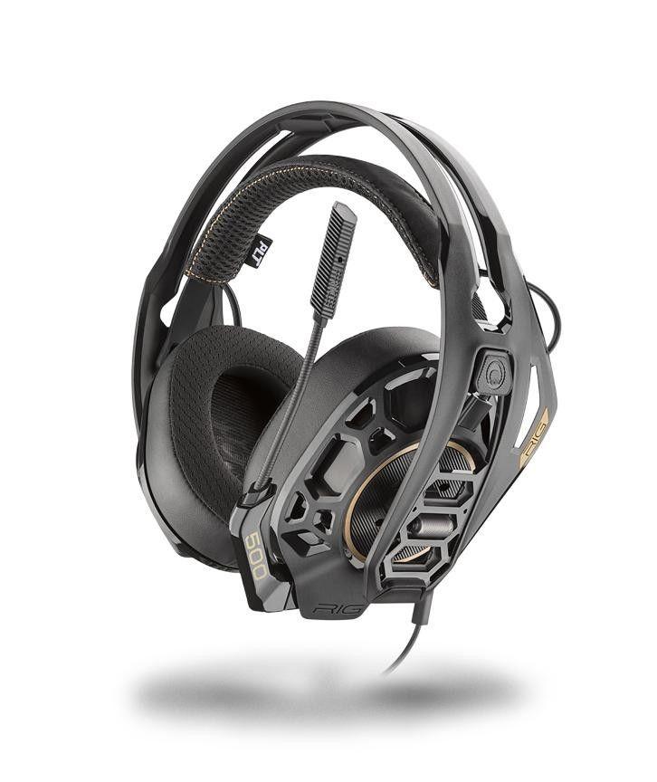 NACON RIG 500 PRO HC Gaming-Headset (kompatibel mit PS4 / Xbox One und PC, Kabelgebunden)