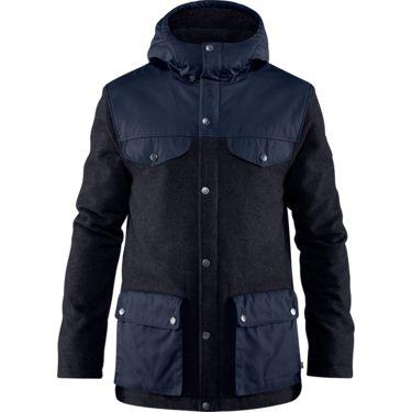 Fjällräven Greenland Re-Wool Jacket Herren, Gr. S & M, Farbe grey