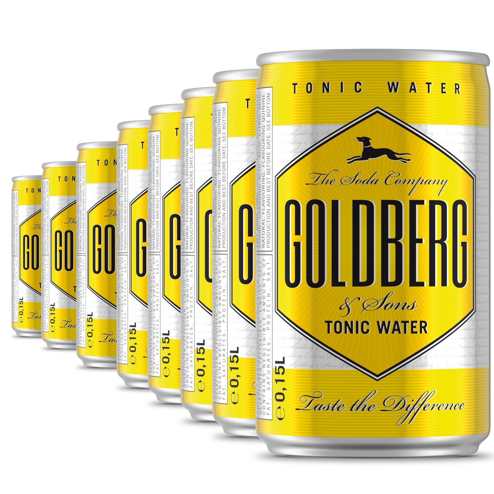 Goldberg Tonic 8x0,15l im Promopack