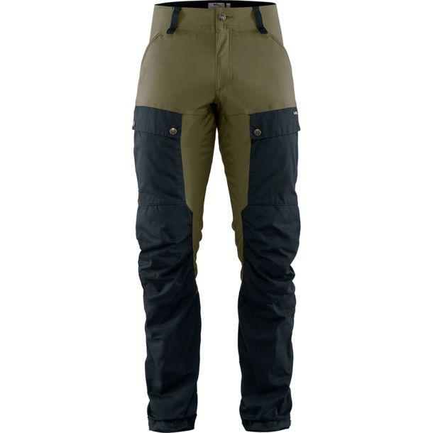 Fjällräven Keb Trousers Regular Herren, NUR Gr. 56, Farbe dark navy/light olive