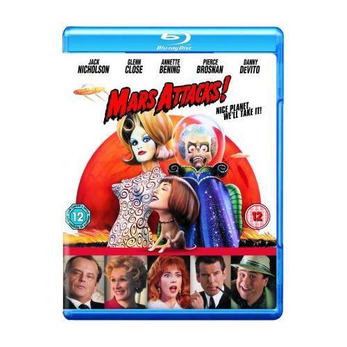Blu-Ray - Mars Attacks! für €6,75 [@Play.com]