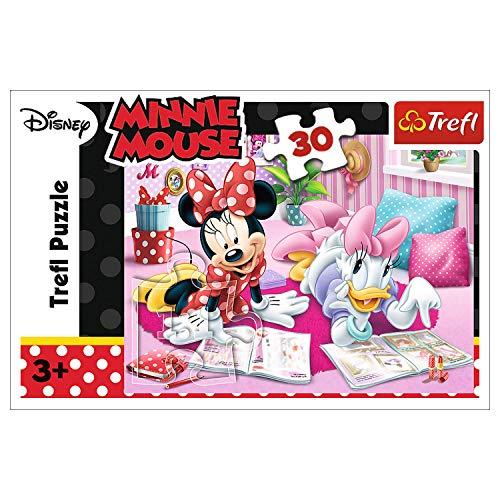 (Amazon Prime) Trefl, Puzzle, Beste Freunde, Disney Minnie, 30 Teile, ab 3 Jahren