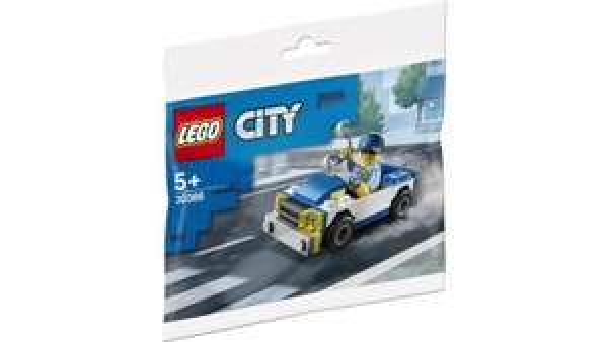 [MÜLLER Abholung in der Filiale] LEGO City 30366 Polizeiauto