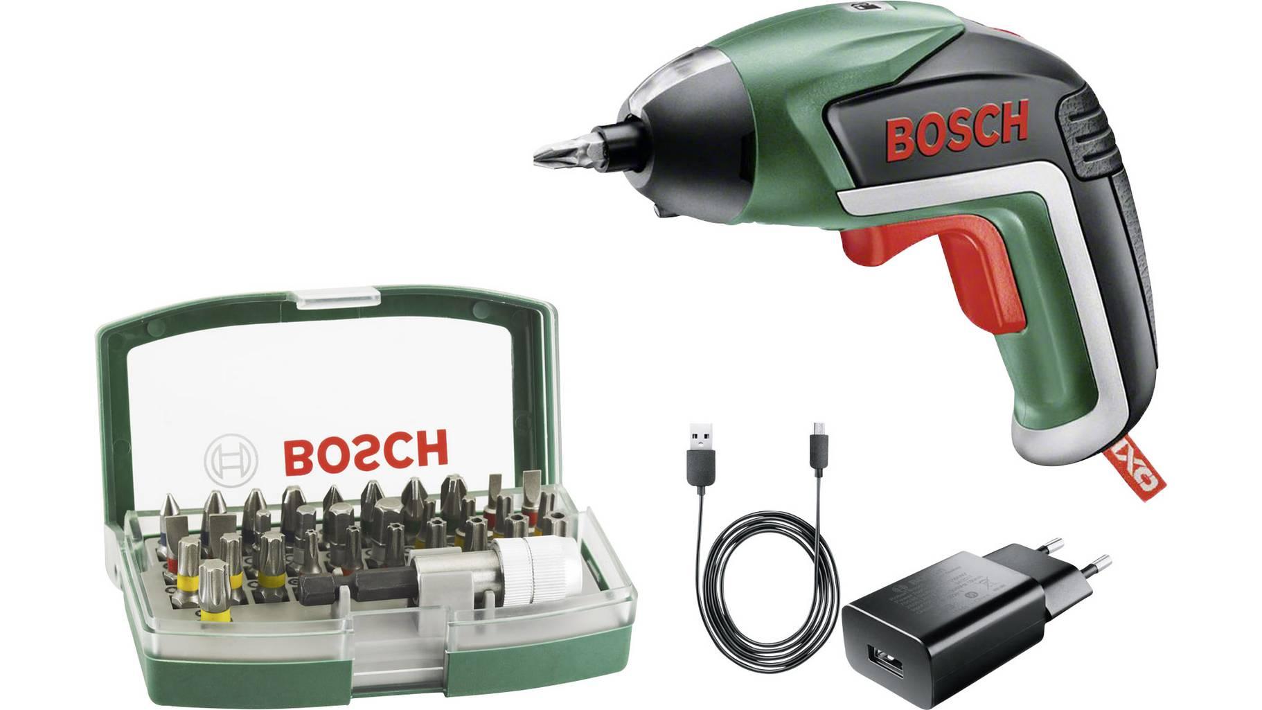 Bosch Home and Garden IXO V 06039A800S Akku-Schrauber 3.6V 1.5Ah Li-Ion inkl. Akku, inkl. Zubehör