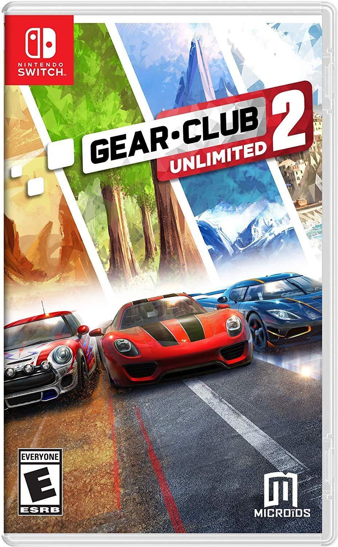 Nintendo Switch - Gear Club Unlimited 2 für 9,97€ (eShop)