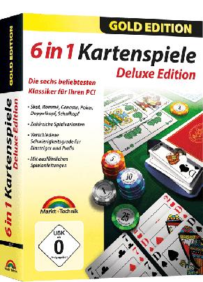 6in1 Kartenspiele Deluxe (Download)