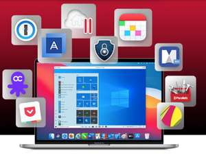(MAC) Parallels Mac Premium Bundle mit 10 Apps inkl. Parallels, 1Password, Fantastical ab 49,99€ bzw. 79,99€