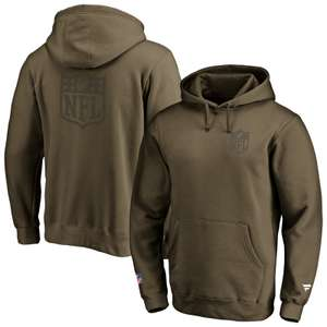 Fanatics Iconic Front & Back Logo Graphic Hoodie NFL Saison 2020