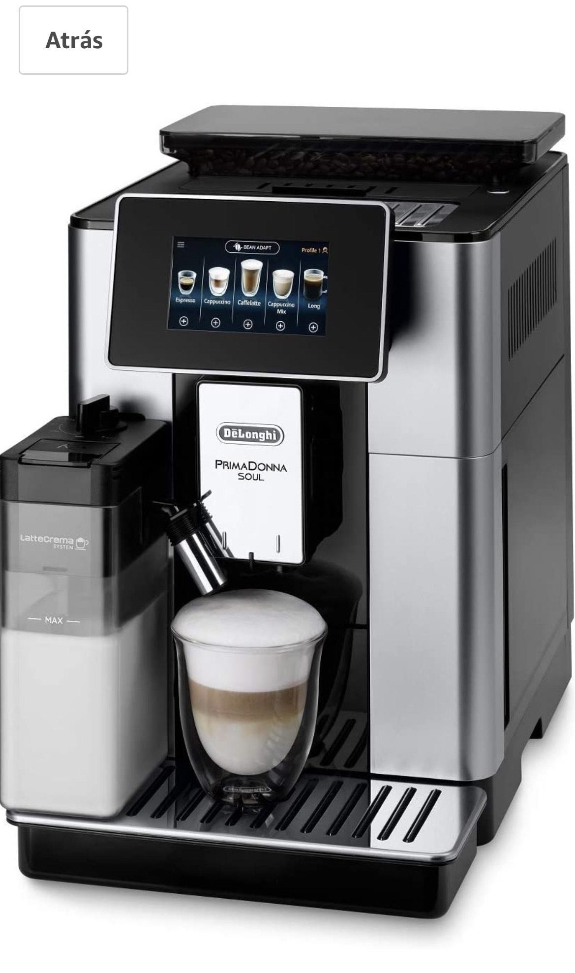 De'Longhi Primadonna Soul ECAM612.55.SB Kaffeevollautomat