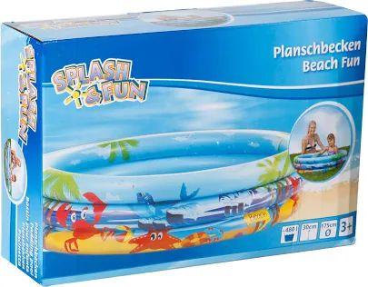 [Saturn Abholung] VEDES Planschbecken Beach Fun Ø175cm Kinderplanschbecken Blau und ein weiteres Modell
