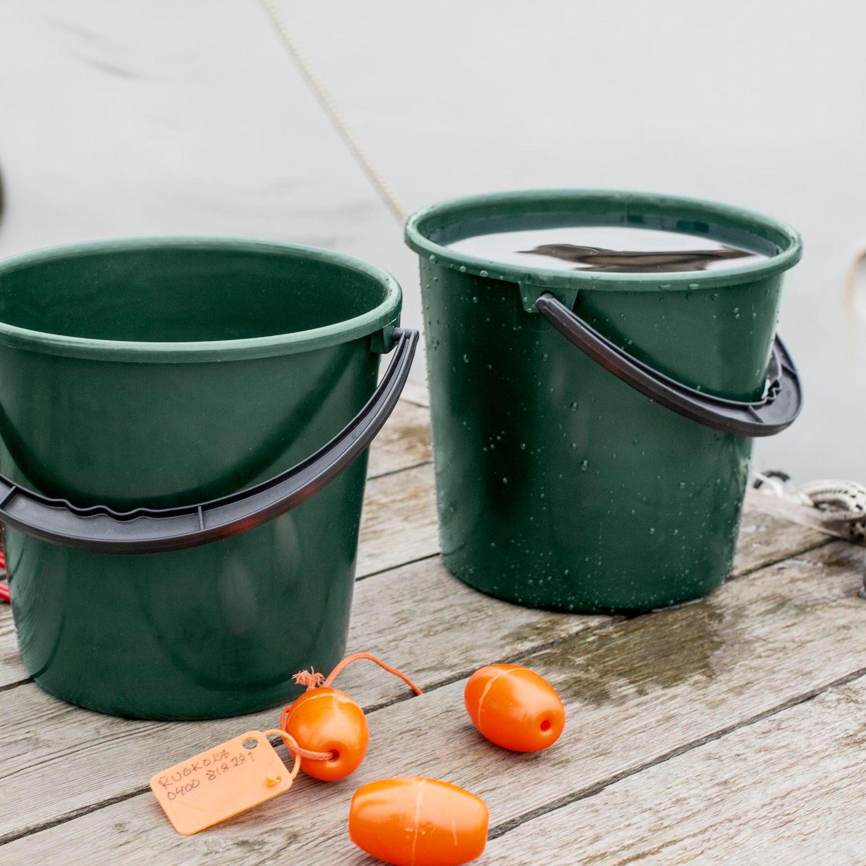 Aldi Süd: 10 Liter Eimer aus recyceltem Fischernetz und Hausmüll
