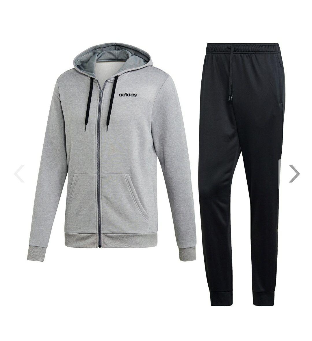 ADIDAS Herren Linear French Terry Hoodie Trainingsanzug ( Grösse M ) Bestprice