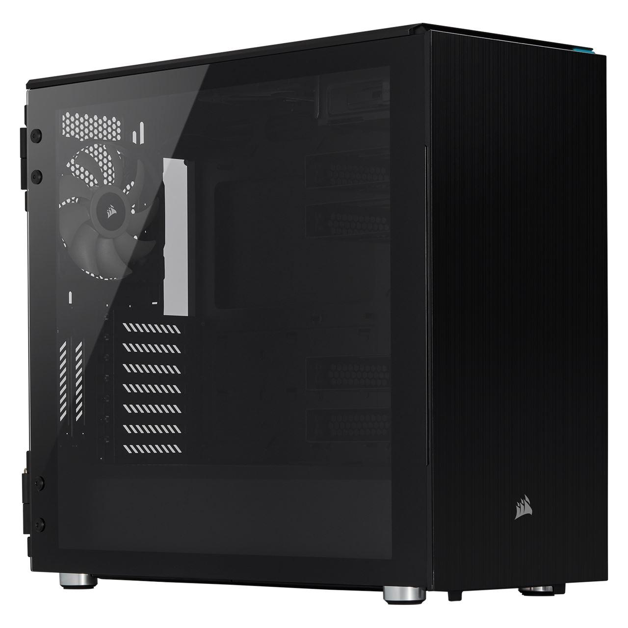 Corsair Carbide 678C mit Sichtfenster Midi Tower schwarz für 147,99€