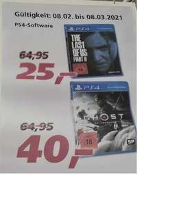 [REAL]Lübeck- The Last Of Us Part II/Ghost of Tsushima 25€/40€ lokal