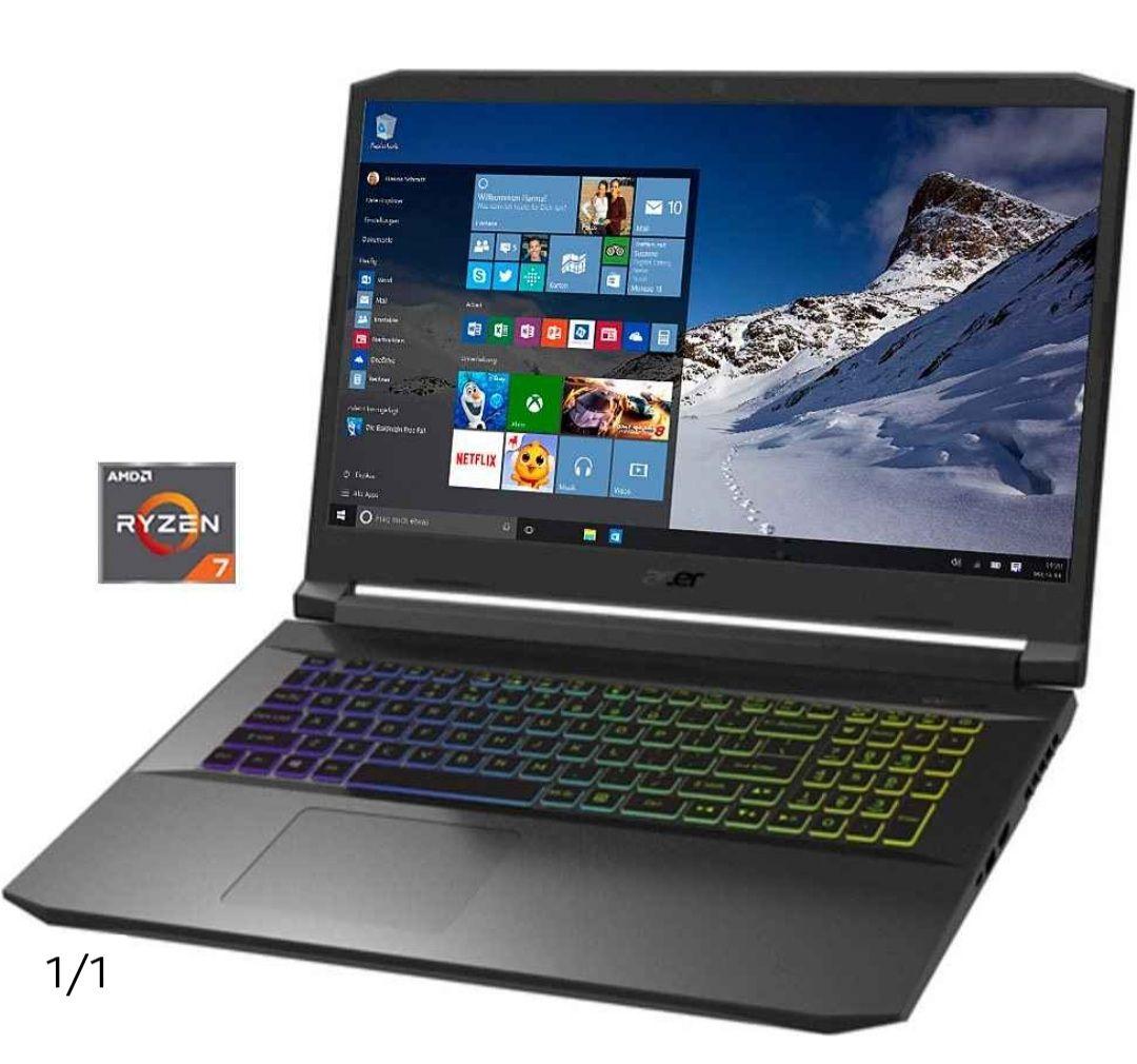 Acer AN517-41-R4ZM Notebook (43,84 cm/17,3 Zoll, AMD Ryzen 7 5800H, RTX 3070,1000 GB SSD)