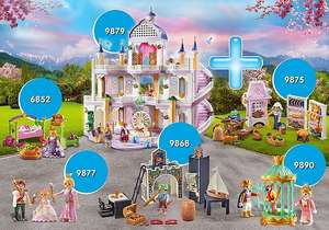 Playmobil Traumpalast(9879) XXL Bundle