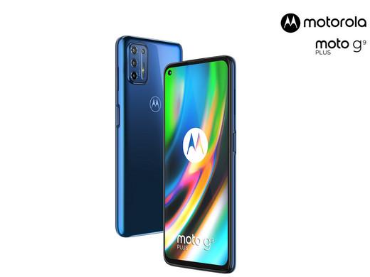 """[iBood] Motorola G9 Plus 128GB """"Navy Blue"""" für 205,90 statt 242 Euro."""