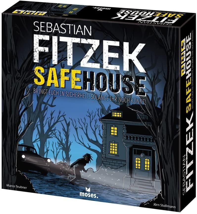 Sebastian Fitzek Safehouse (Karten-/Brettspiel, ab 12 Jahren, 2-4 Spieler) [Thalia KultClub]