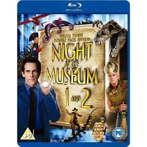 (UK) Night At The Museum 1 & 2 [2 x Blu-ray] für 8,99€ @ play