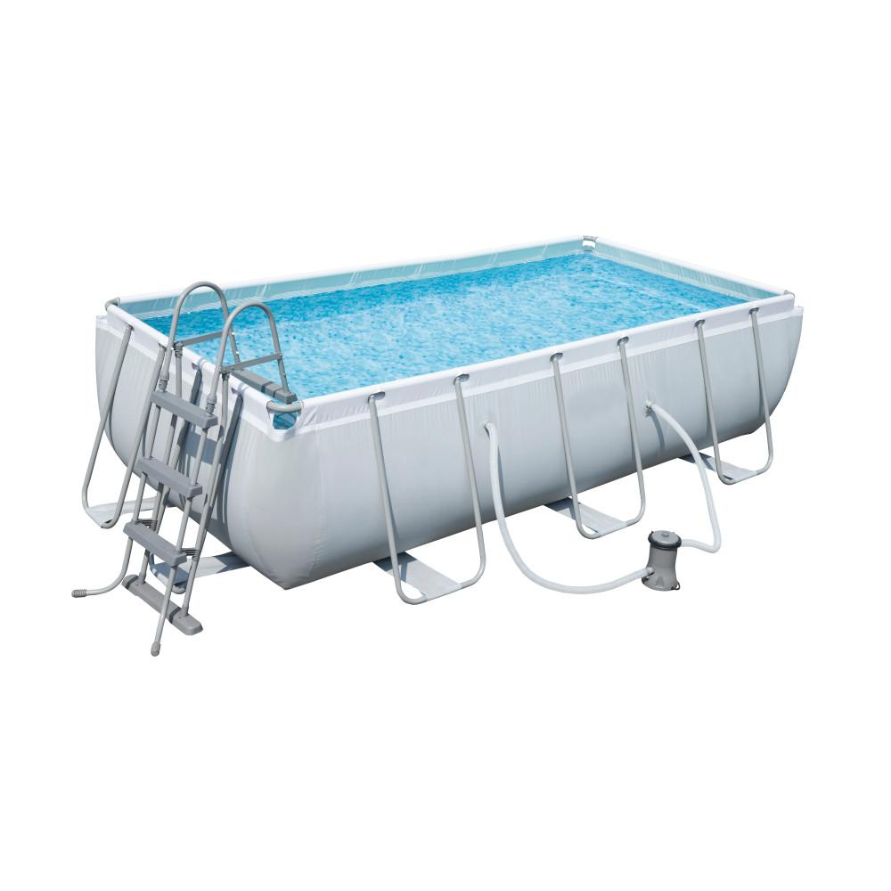 [Lokal] Bestway Power Steel Frame Pool Set 404x201x100cm (mit Kartuschenfilter)