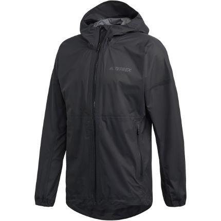 Adidas Terrex Agravic 3L Regenjacke Laufjacke schwarz