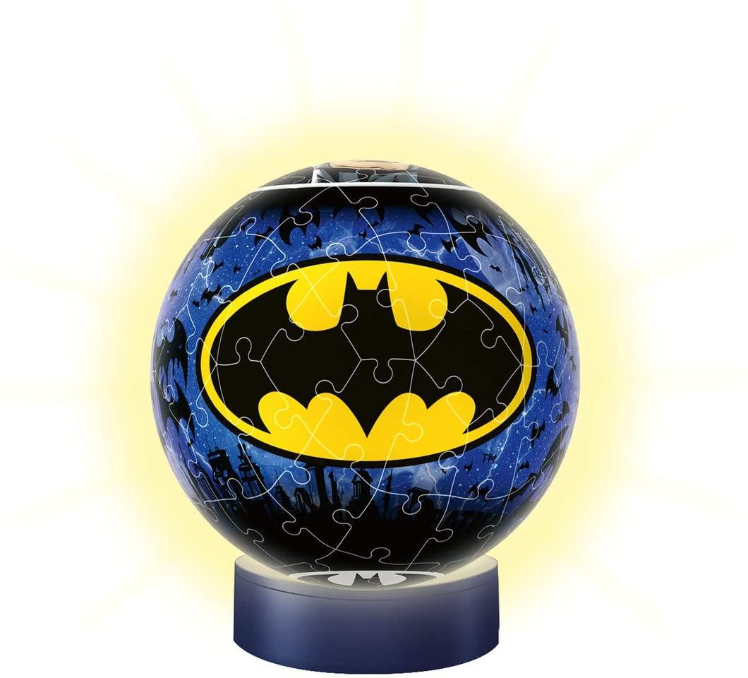 Ravensburger 3D Puzzle - Batman Nachtlicht mit Klatschfunktion (72 Teile) [Prime/Saturn Abholung]