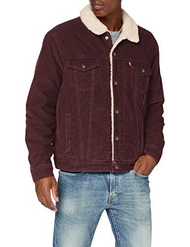 Levi's Herren Type 3 Sherpa Trucker Jacke All Spice Größe M Kombinierbar mit 100€ für 70€
