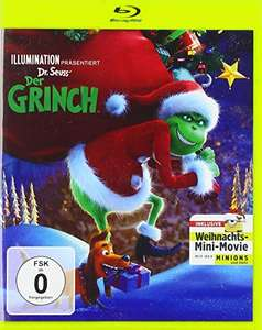 Der Grinch (2018) Blu-ray Weihnachtsedition AMAZON PRIME