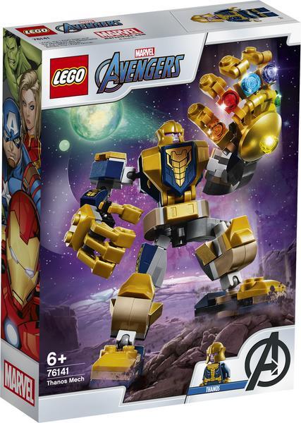 LEGO Marvel Avengers 76141 Thanos Mech, Captain America, Thor, Iron Man [ThaliaKult]