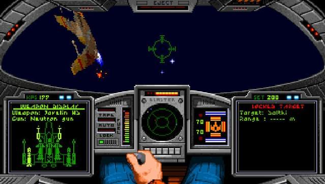 alle Wing Commander Teile für je 1,29€ bei GOG