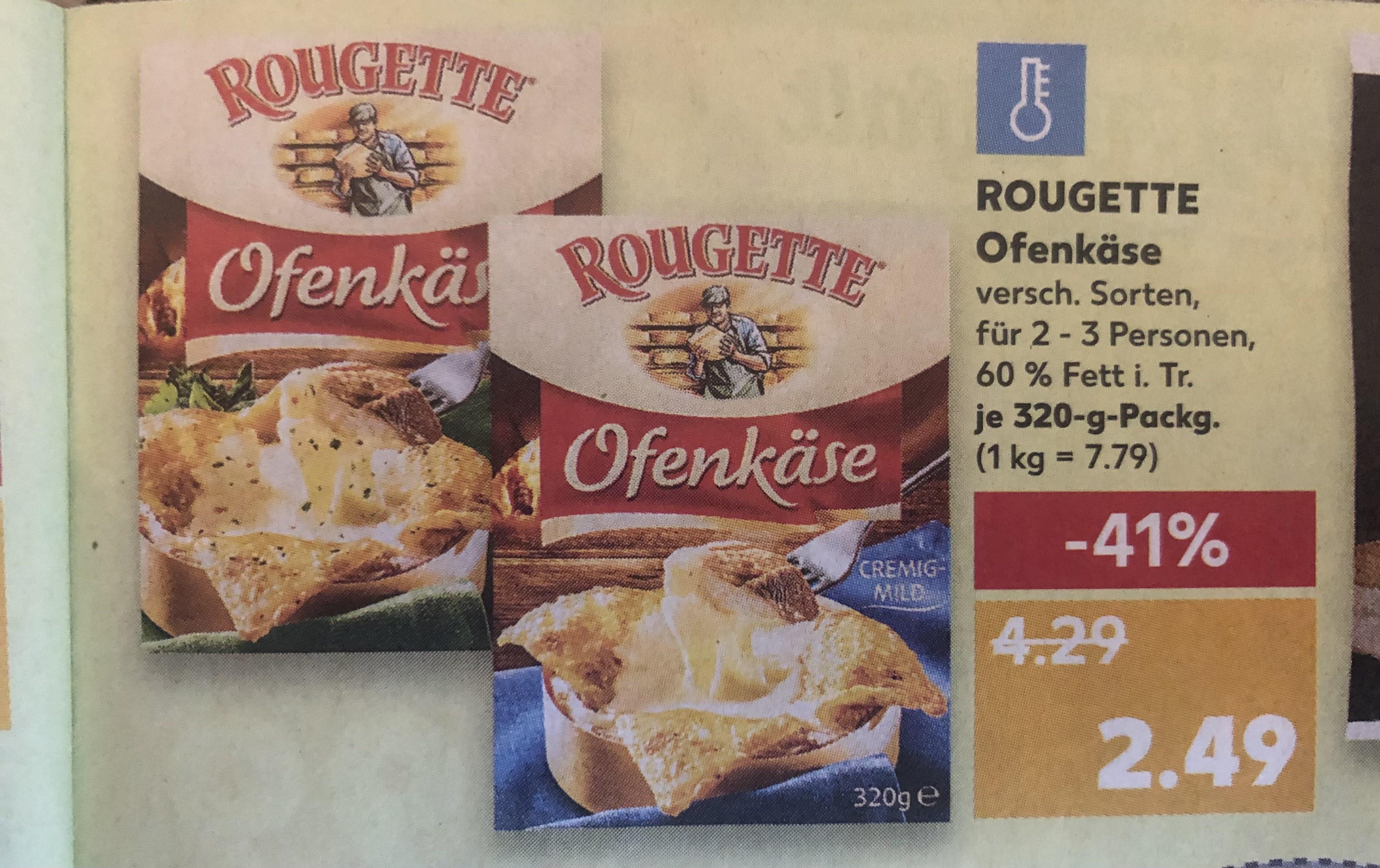 [KAUFLAND Aachen & weitere] Rougette Ofenkäse 320g