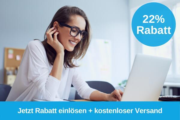 [Druckerpatronen.de] Jetzt 22% Extra-Rabatt auf alle Produkte, Versand kostenlos, Mindestbestellwert 10 €
