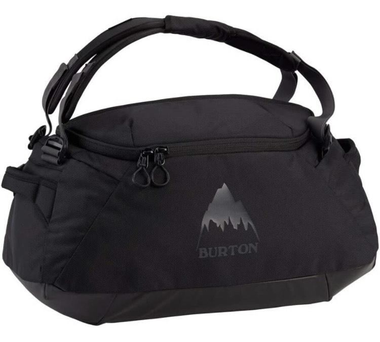 (Amazon Prime) Burton Multipath Gepäck- Koffer Duffel, True Black Ballistic 40 L