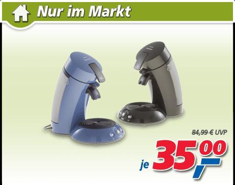 [real,- ]Kaffee-Padautomat Senseo® HD 7810 für 35,- Euro