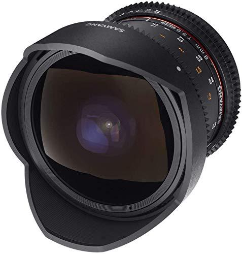 SAMYANG 13008T3.8CM 8 mm T3.8 VDSLR UMC Fish-Eye CS II Objektiv - Canon M