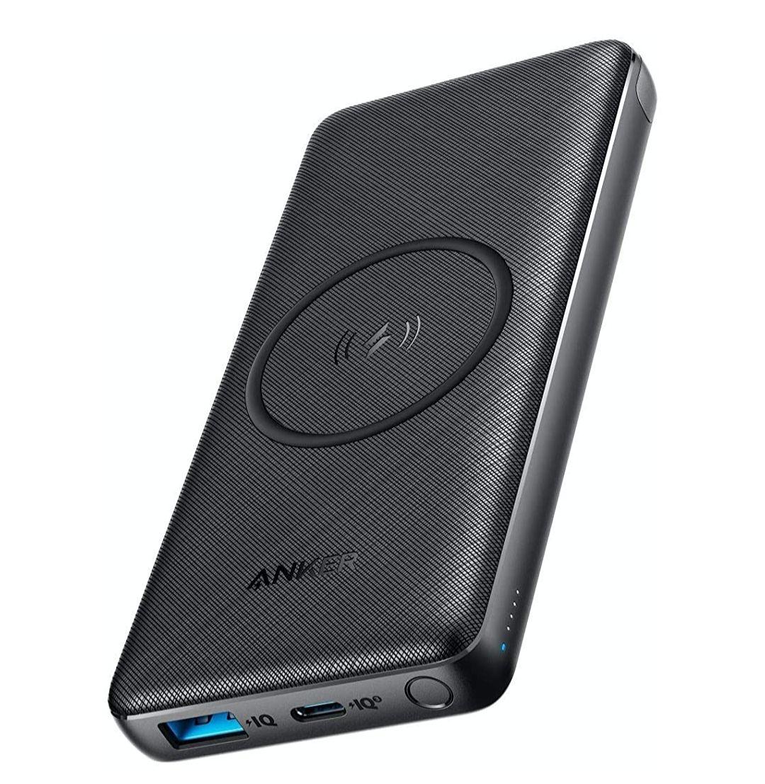 [Amazon Prime] Anker Wireless Powerbank 10000mAh, PowerCore III 10K kabelloser externer Akku Qi-Zertifiziert, 18W USB-C Quick Charge