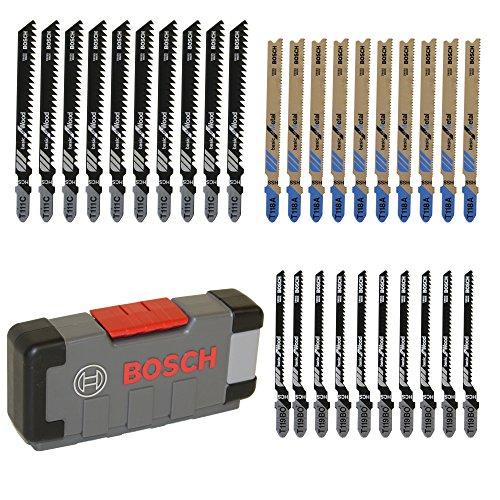 [Amazon Prime] Bosch Professional 30tlg. Stichsägeblatt Set Basic for Wood and Metal (für Holz und Metall, Zubehör Stichsäge)