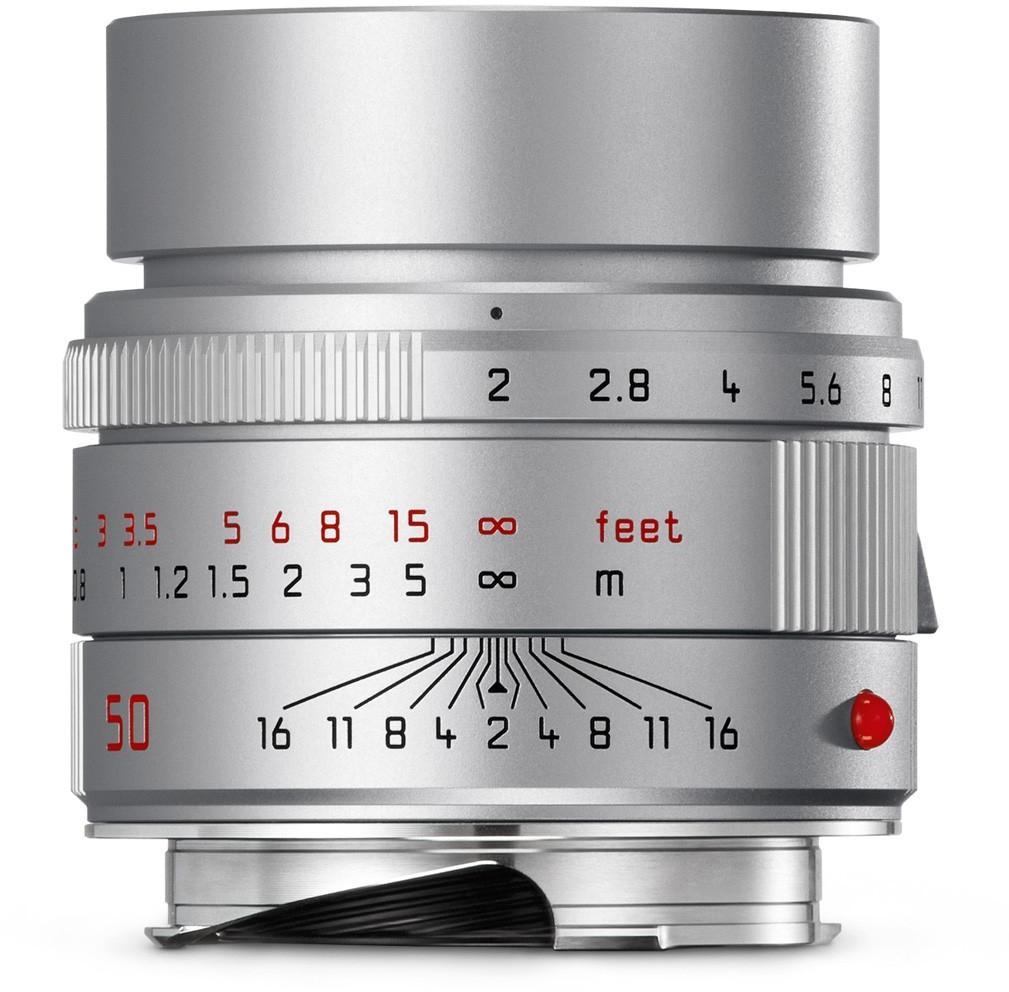 Leica APO-SUMMICRON-M 50mm F2 ASPH. Objektiv (silbern eloxiert)