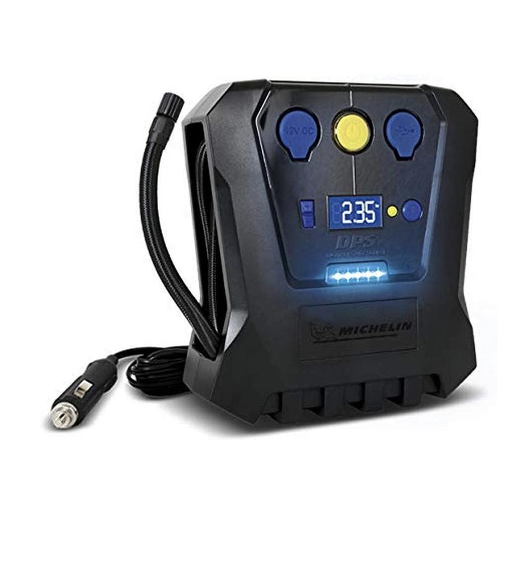[Amazon.fr] Michelin 12V Kompressor / digital, programmierbar, 6,9bar, USB Ausgang