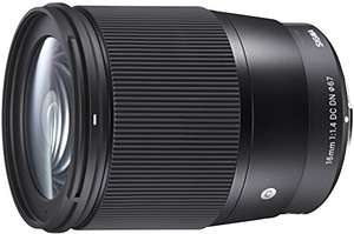 Sigma 16mm F1,4 DC DN Contemporary Objektiv (67mm Filtergewinde) für Sony E-Mount