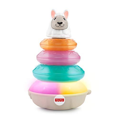 Fisher-Price, BlinkiLinkis Lama, interaktives Spielzeug für Babys ab 9 Monaten (Prime)
