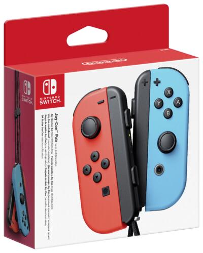 [Maingau Kunden inkl. NL Gutschein] Nintendo Switch Joy-Con 2er Set Neon-Rot / Neon-Blau