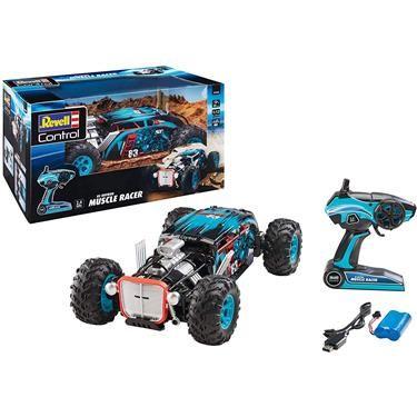 [duo-shop.de] Revell Control 24446 RC Hot Rod Muscle Car Racer, 2.4 GHz, 4WD Allradantrieb, bis zu 20 km/h, 38,5 cm