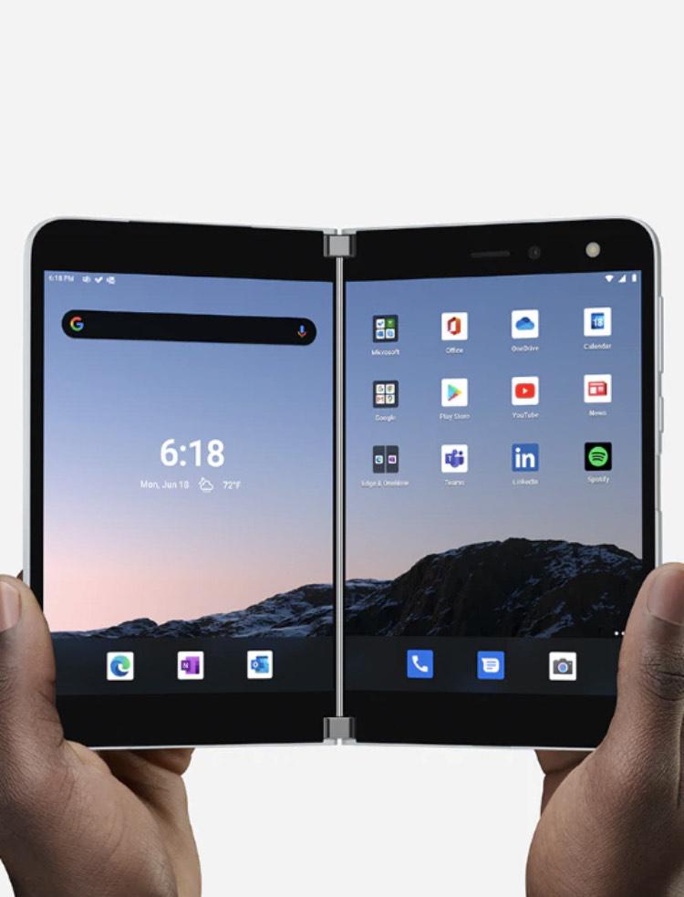 Microsoft Surface Duo bis 500€ für Eintauschgeräte