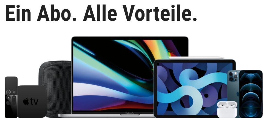 Apple Produkte effektiv billiger im Abo bei Cyberport