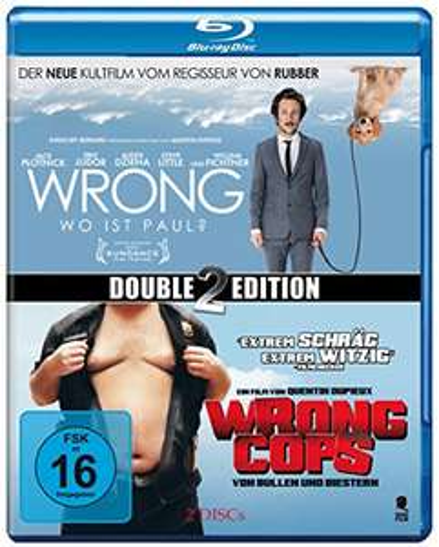 Wrong & Wrong Cops (Double2Edition) [2 Blu-Rays] Amazon Prime