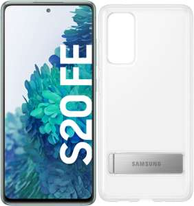 Samsung Galaxy S20 FE (128GB) Smartphone cloud mint inkl. Clear Standing Cover