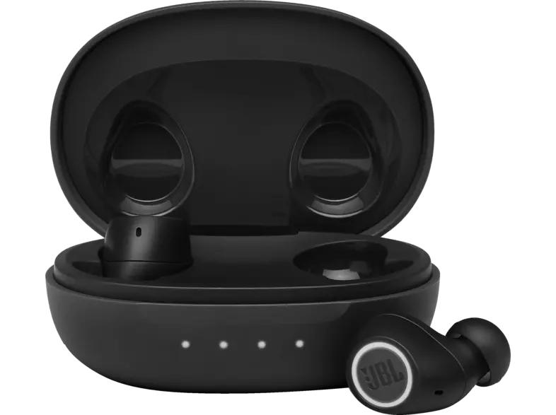 [Saturn] JBL Free II, In-Ear True Wireless Kopfhörer Bluetooth Schwarz ( Ohrstöpsel in 3 Größen, IPX4 )