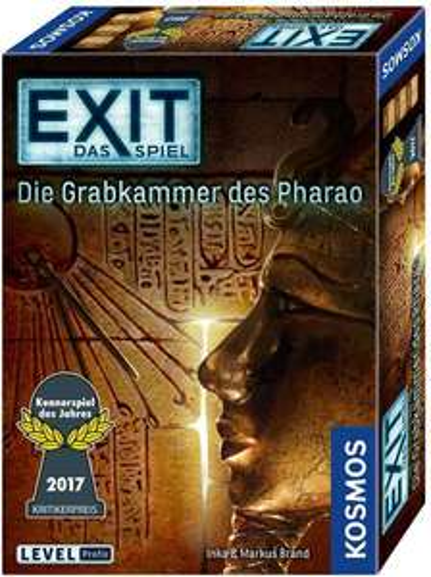 EXIT - Die Grabkammer des Pharao (Kennerspiel des Jahres 2017) [Thalia KultClub]